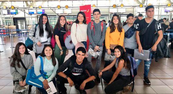¡Nuestros alumnos comenzaron su viaje de Intercambio a Londres!