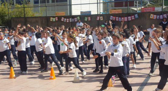 Así se vivió el Día de la Actividad Física en Sede Primary