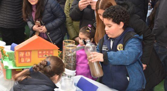 Nuestros alumnos y alumnas se lucieron en la versión 2019 de la Feria Científica