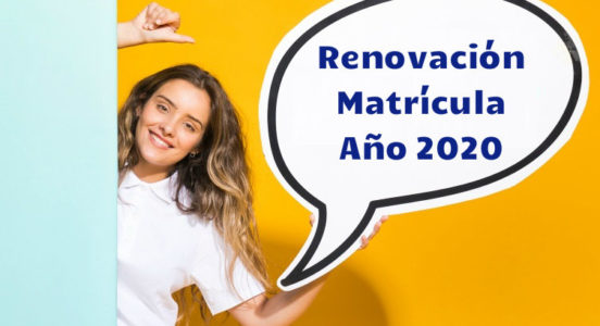 Proceso Renovación de Matrícula 2020