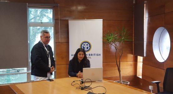 Alumna del American British participó en conferencia para educadores de Cognita