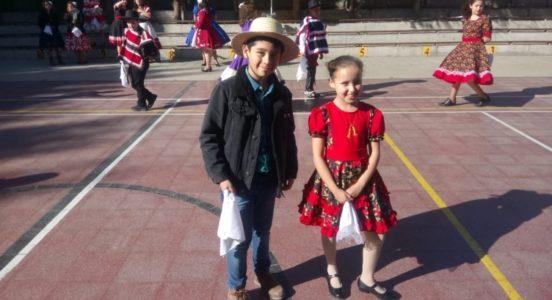 Celebración Fiestas Patrias en Sede Alicahue y Santa Irene