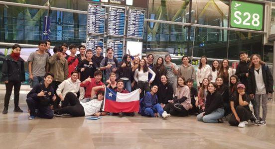 Nuestros alumnos comenzaron su viaje de Intercambio a UK
