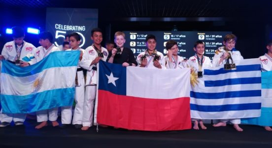 Alumno del American British tuvo una destacada participación en Panamericano de Taekwondo