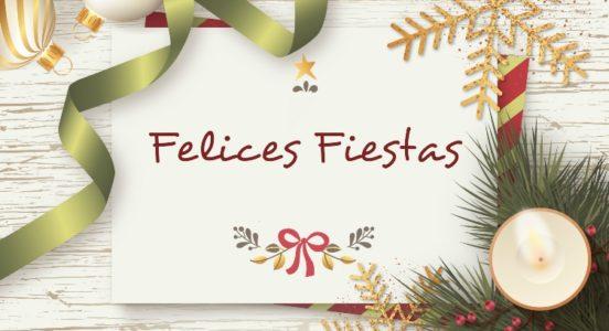 Su Colegio les desea Felices Fiestas