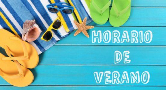 Horarios de atención en período de vacaciones de verano