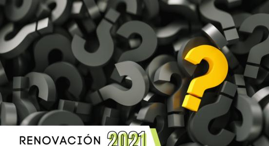 Consultas Renovación 2021