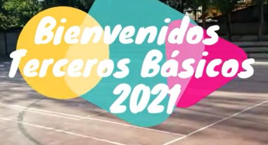 Sede Alicahue da la bienvenidaa los Terceros Básicos 2021