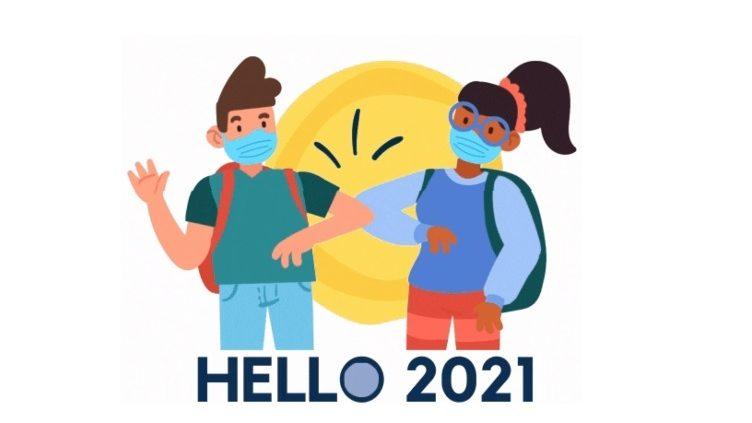 Hello 2021! Bienvenidos a un nuevo año escolar🏫