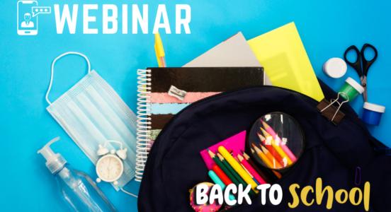 Webinar Back to School, 8 de marzo 2021