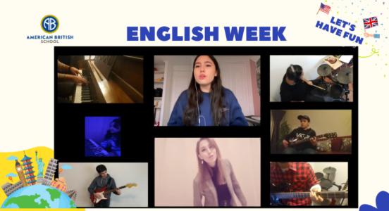 English Week 2021: Vibrante presentación musical de estudiantes y profesores👩🎤🎵👨🏻🎤