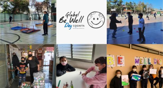 Global Be Well Day en Sedes Alicahue y Santa Irene